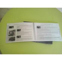 manuel d utilisation carnet de bord ! xsara picasso  TBE!!