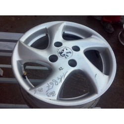 Jante Aluminium d origine Jante alu Sirocco 6.0x15 Peugeot 206 avec sigle collé -