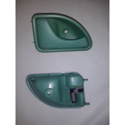 twingo 1 poignee avant gauche ouverture de porte couleur verte origine renault. Black Bedroom Furniture Sets. Home Design Ideas