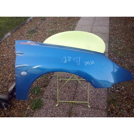 aile avant droite peugeot 206 xs cabriolet de 98 a 06 couleur bleu nacree. Black Bedroom Furniture Sets. Home Design Ideas