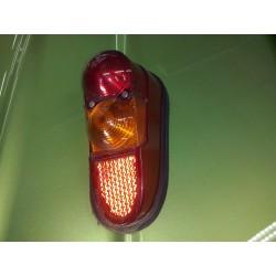 R4  feux arriere cabochon   clignotant droit  complet avec porte lampes
