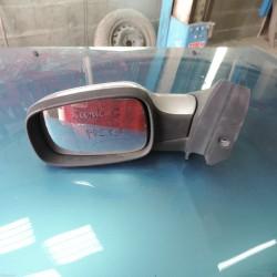 retroviseur scenic 2 phase 2   rabattable electriquement coque grise metal cote gauche !!!