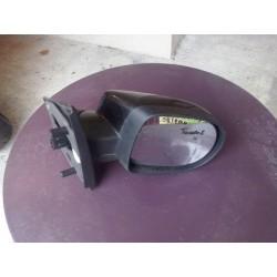 retroviseur TWINGO 2 depuis 2008 cote droit passager electrique parfait etat!!  coque noir nacree 676