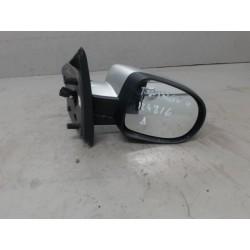 twingo 2 phase 2 de 2013 rétroviseur droit coque noir métal nacree