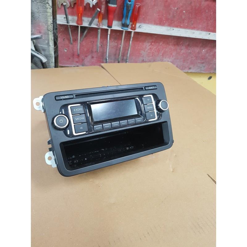 Volkswagen Polo 6r Golf 6 Passat Autoradio Poste Cd Ref 5m0035156b