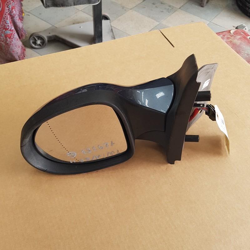 retroviseur twingo 2 depuis 2007 cote gauche electrique parfait etat coque gris metal nacree. Black Bedroom Furniture Sets. Home Design Ideas